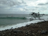 -Surfed Noosa consistently, 2-5 ft. Epic rocky Boilers to Nationals and dredging sand barrels tubetastic at Tea Trees