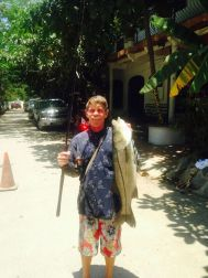 Caught off the beach at Sayulita!