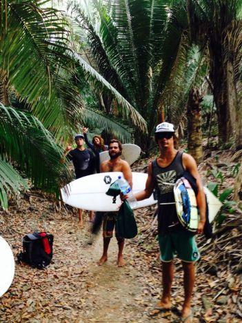 Jungle training-path to Burros