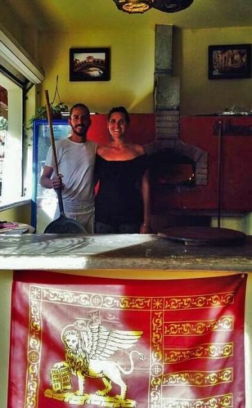 Matteo's Italian-La Venezia, amazing pizza, pasta and pesto!