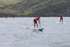 Ollie and Paul flying away to 1st and 2nd respectively-paddling strong!