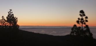 Above the clouds at Dawn