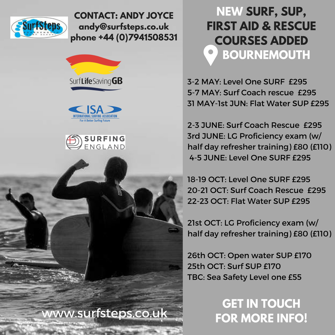 Surf Steps_NEW COURSES_Social Media