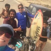 With the Ramin Crew (Caro, Shams, Abdulrahzagh, Me)