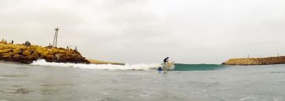 ramin fish eye surfing